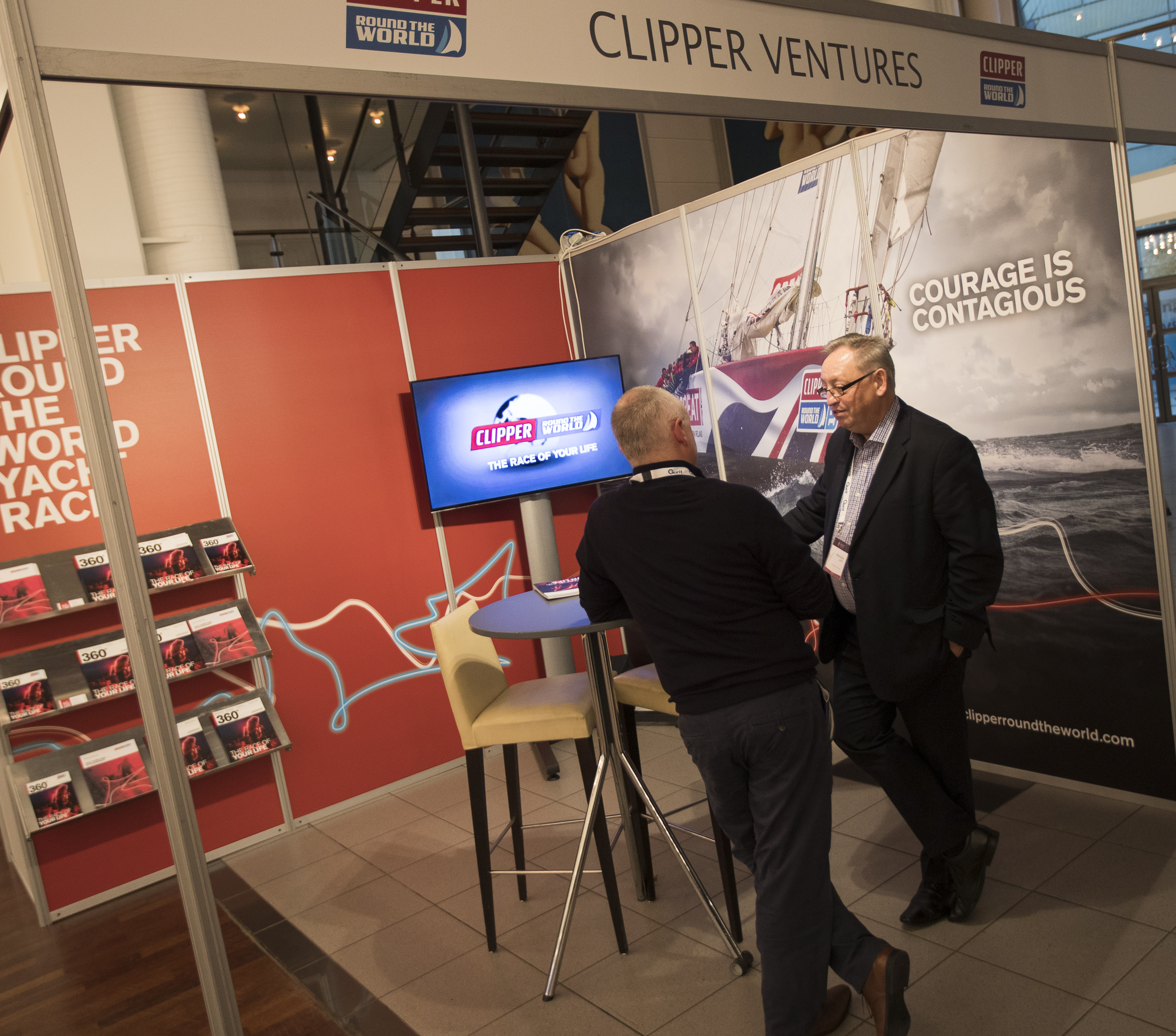 Yacht Racing Forum stand