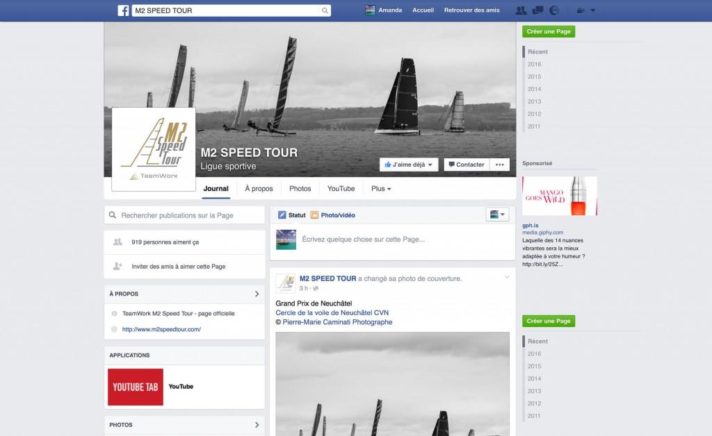 M2 Speed Tour Facebook