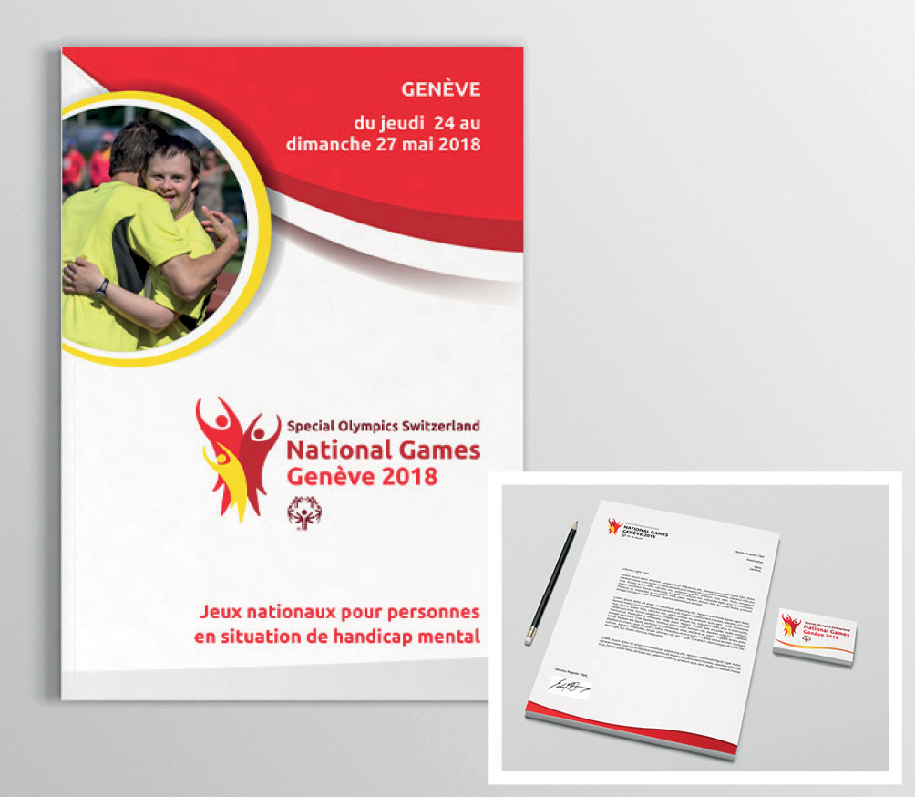 Supports de communication National Games