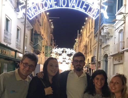 L'équipe de MaxComm Communication est arrivée à Malte pour le Yacht Racing Forum