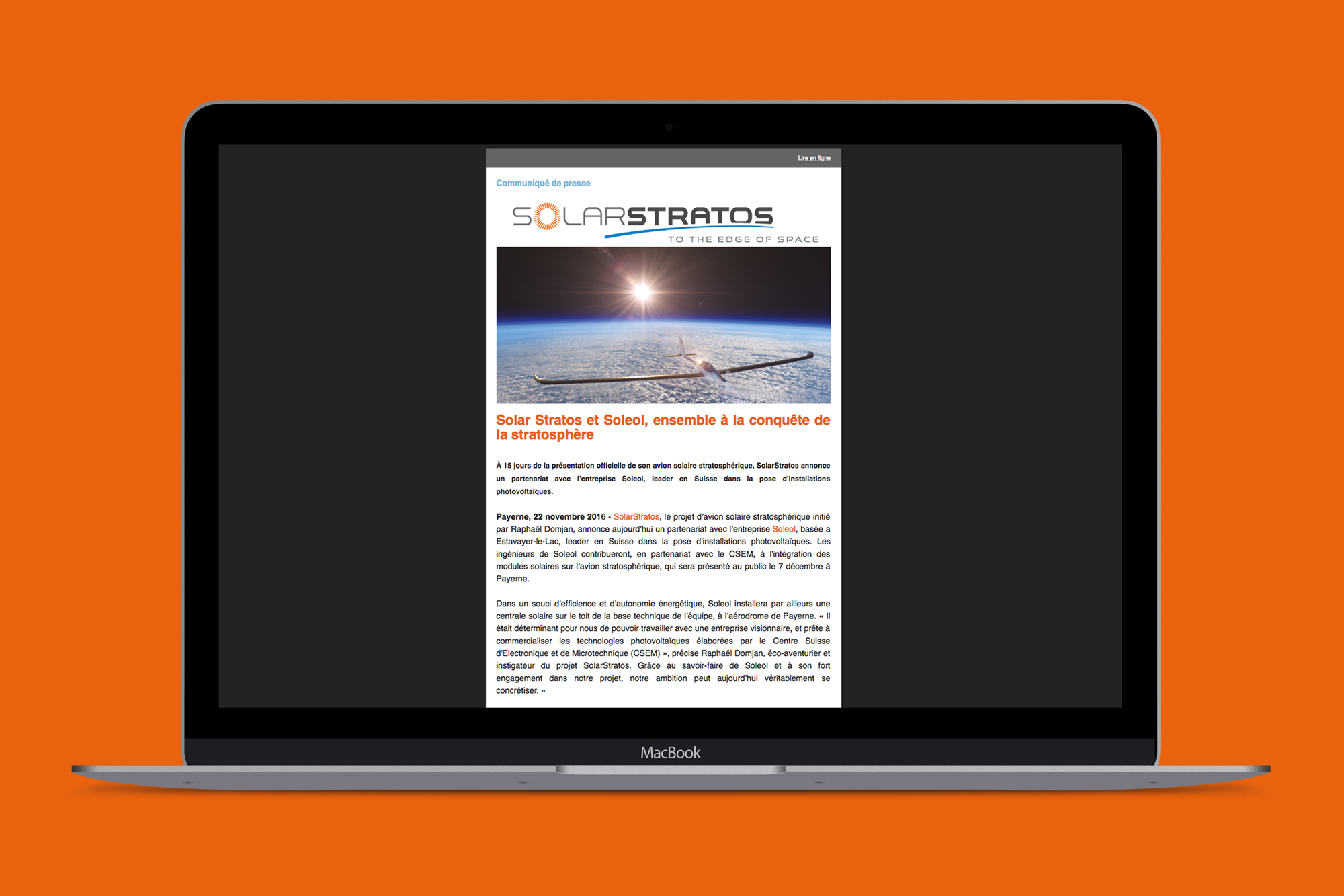 Solar Stratos
