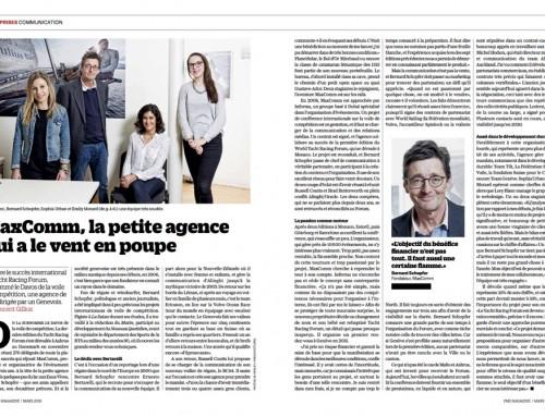 MaxComm dans PME Magazine